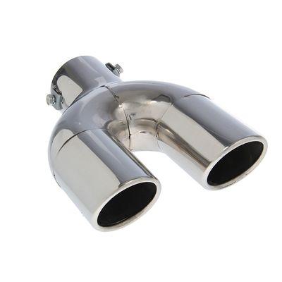 Насадка на глушитель двойная 210х60 мм