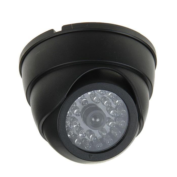 Муляж видеокамеры LuazON VM-4, со светодиодным индикатором, 2хАА не в компл, черный