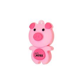 "Подарочная USB-флешка 4 Gb Mirex PIG PINK, ""свинка"""
