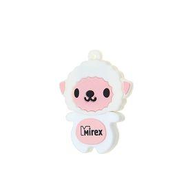 "Подарочная USB-флешка 4 Gb Mirex SHEEP PINK, ""овечка"""