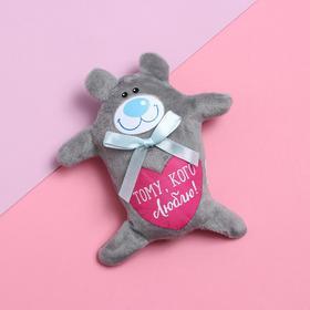 Мягкая игрушка-магнит «Тому, кого люблю!», мишка в Донецке