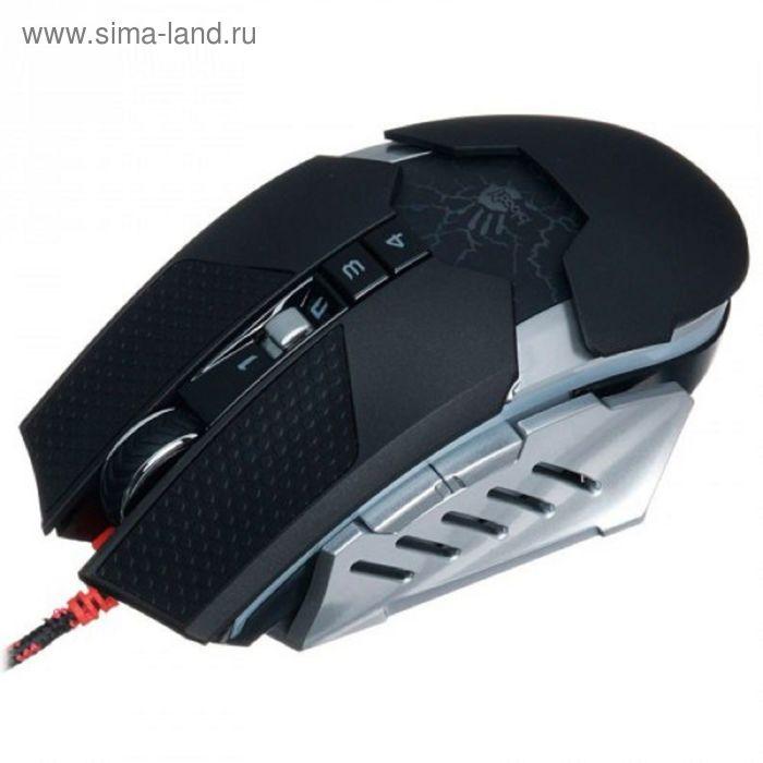 Мышь A4 Bloody TL60 Terminator, черный/серый, USB2.0