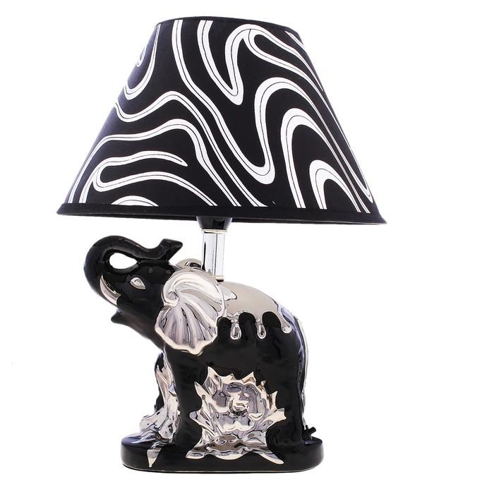 """Лампа настольная """"Черный слон"""""""