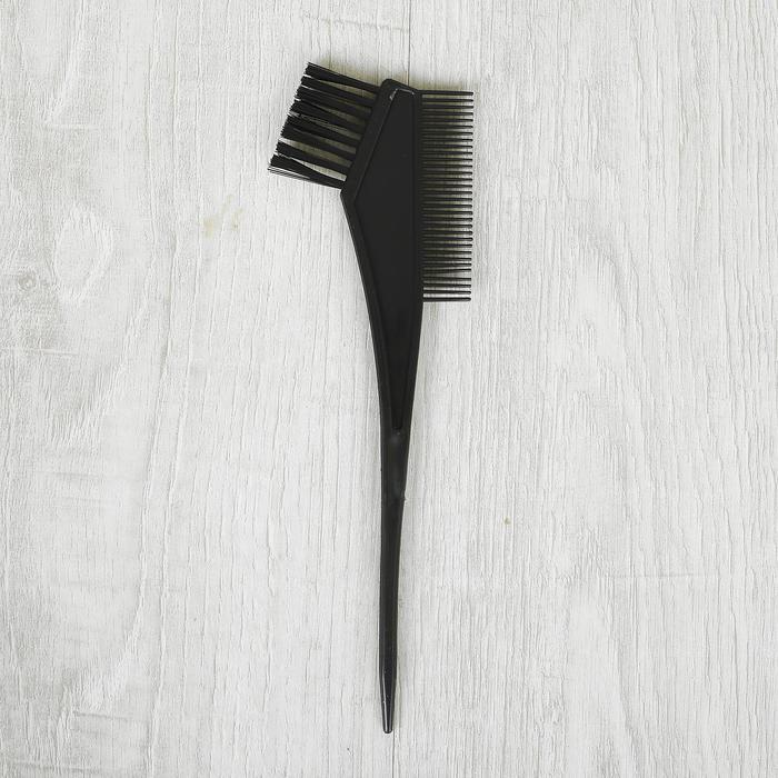 Расческа для окрашивания волос, цвет черный