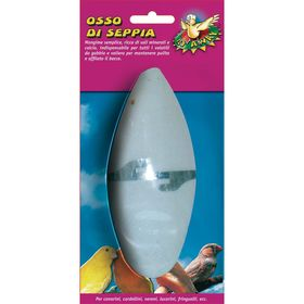 Панцирь  каракатицы для птиц, с держателем, 12 см, блистер