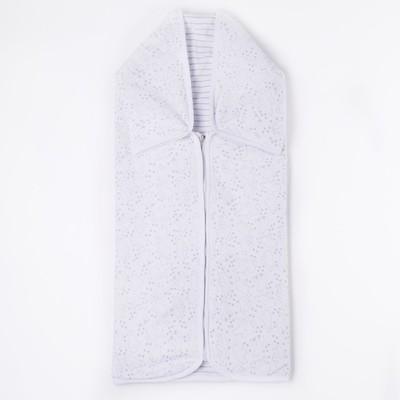 Конверт детский, рост 62 см (40), цвет белый