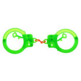 Наручники с ключами, цвета МИКС Ош