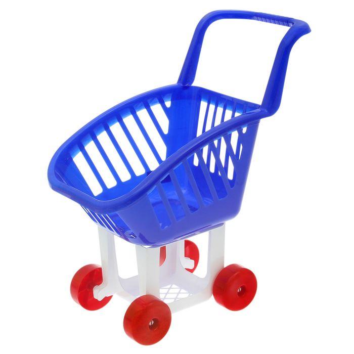 Тележка детская для супермаркета, цвета МИКС