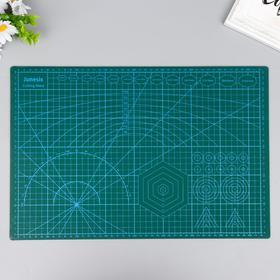 Резиновый мат для творчества формат А3 45х30 см толщина 3 мм