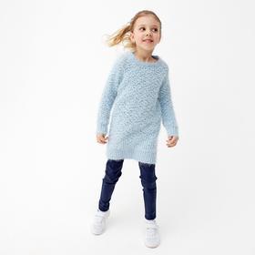 Туника для девочки, рост 116 см, цвет снег 86003м