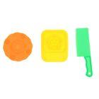 Формочки для лепки, набор 3 шт, МИКС