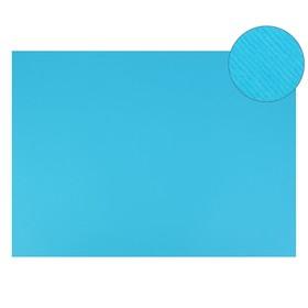 Картон цветной, двусторонний: текстурный/гладкий, 700 х 500 мм, Sadipal Fabriano Elle Erre, 220 г/м, голубой яркий CELLO