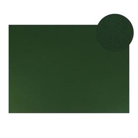 Картон цветной, двусторонний: текстурный/гладкий, 700 х 500 мм, Sadipal Fabriano Elle Erre, 220 г/м, зеленый темный Verone