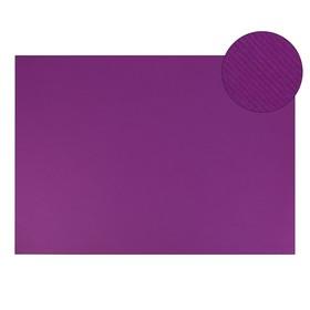 Картон цветной, двусторонний: текстурный/гладкий, 700 х 500 мм, Sadipal Fabriano Elle Erre, 220 г/м, фиолетовый VIOLA