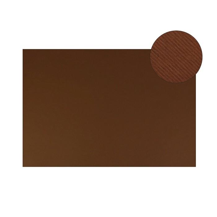 Картон цветной текстурный 700*500 мм Sadipal Fabriano Elle Erre 220 г/м Marrone F42450706