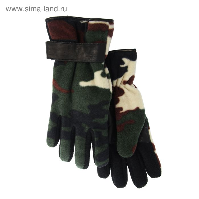 Перчатки подростковые, модель №1154, без подклада, р-р 20, цветные