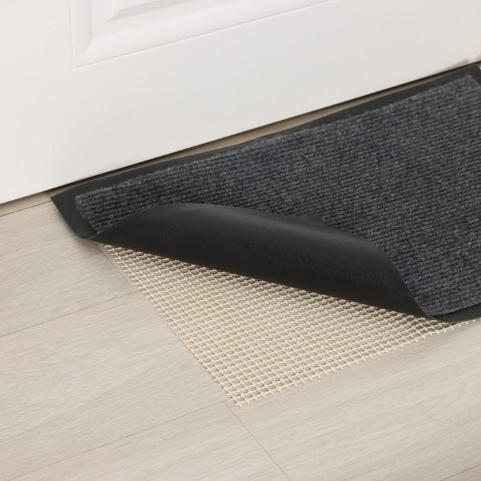 Substrate under the carpet anti-slip 45 x 90 cm, color white