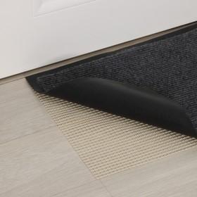 Подложка под ковёр противоскользящая Доляна, 45×120 см, цвет белый Ош