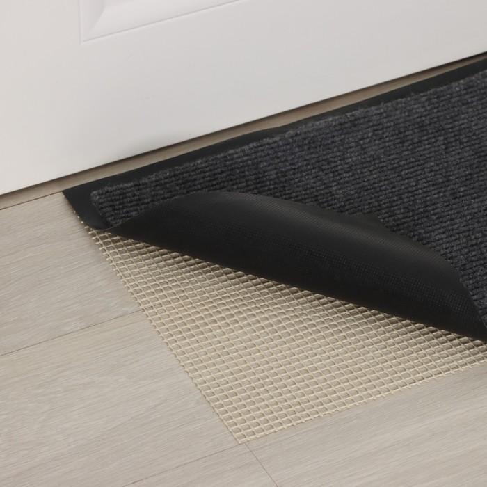 Подложка под ковёр противоскользящая 45×120 см, цвет белый