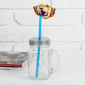 Трубочка для коктейля «Тигр»