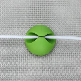 Набор держателей проводов, 6 шт, цвет МИКС - фото 4659352