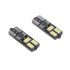 Autolamp led T10 W5W TORSO, envelope, 12 V, 3 W, 6 SMD 5630, with blende, 2 PCs.