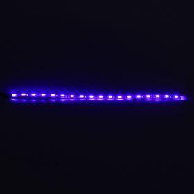 Светодиодная линейка TORSO 18LED-SMD5050, 30 см, 12 В, IP65, 3.6 Вт, свет синий