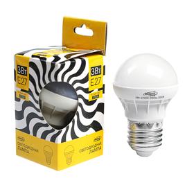 Лампа светодиодная Luazon Е27 3W 2700К