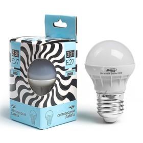 Лампа светодиодная Luazon Е27 3W 4200К