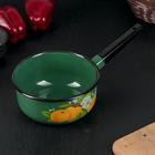 Ковш «Абрикос», 1,5 л, 18×8 см, цвет зелёный