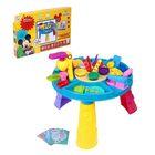 Игровой набор для лепки Микки и его друзья, 34 предмета, 5 цветов пластилина