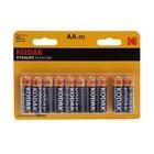 Батарейка алкалиновая Kodak XtraLife, AA, LR6-10BL, блистер, 10 шт.