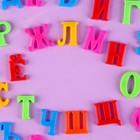 """Алфавит магнитный """"Русский язык"""", 33 шт., высота буквы — 2,8 см"""