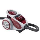 Пылесос Hoover TXP1510 XARION PRO, 1500 Вт, мощность всасывания 250 Вт, серо-красный