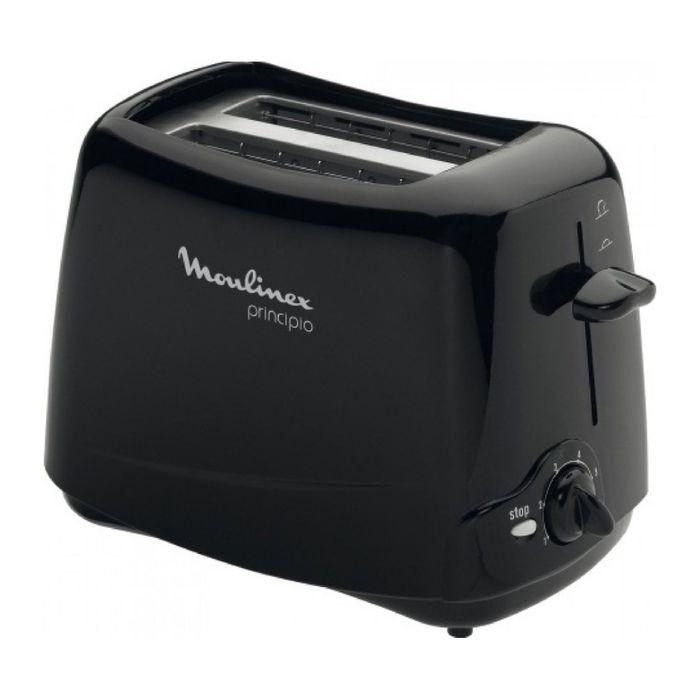 Тостер Moulinex TT 110232 Principio, 850 Вт, 2 тоста, черный