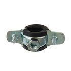 """Pipe clamp with M8 nut, 1/2"""" diameter 20-24 mm"""