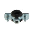 """Pipe clamp with M8 nut, 1/4"""", diameter 11-15 mm"""