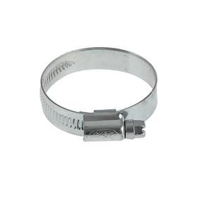 Хомут червячный MGF, диаметр 30-45 мм, ширина ленты 12 мм, оцинкованный Ош