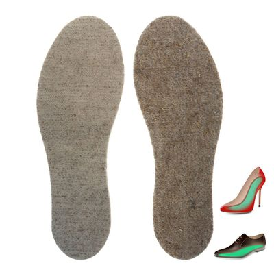 """Стельки для обуви льняные """"Лён 100"""", 37-38 р-р, 2шт"""