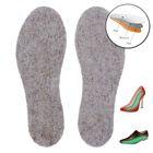 """Стельки для обуви """"Эффект термоса"""", льняные, фольгированные, 35-36 р-р, пара"""