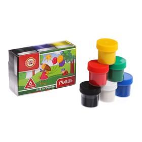 Гуашь 6 цветов х 25 мл, Koh-I-Noor, в картонной коробке