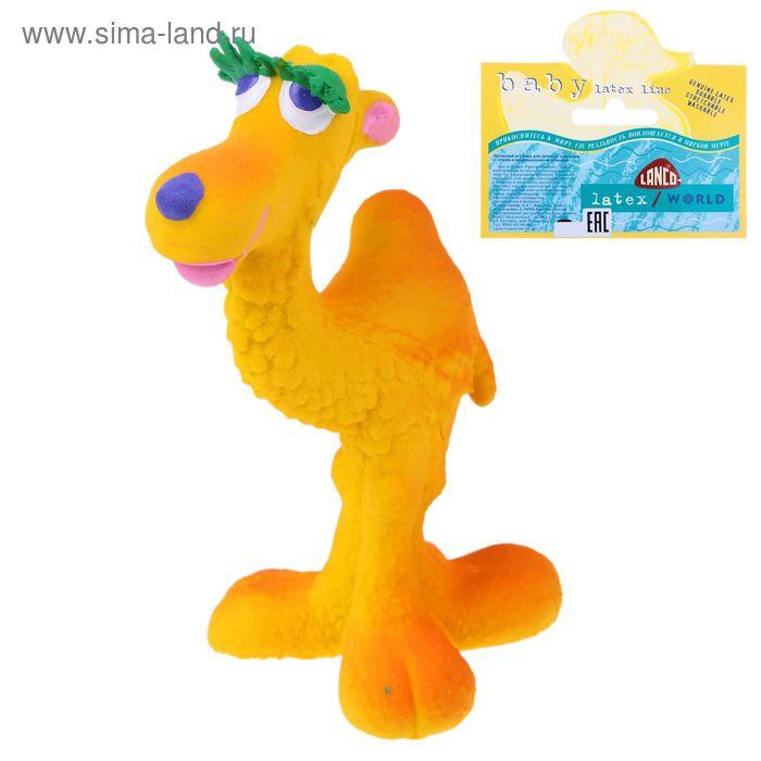 Латексная игрушка «Верблюд»