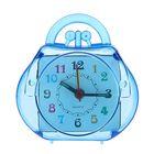 "Alarm clock ""Purse"", the hands glow in the dark, 8.5x8 cm mix"
