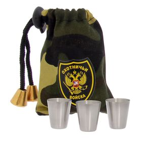 """A set of stacks in the bag """"Hunting army"""", 30 ml, 3 PCs."""
