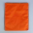 Сумка для сменной обуви 420 × 340 мм, Оранжевая