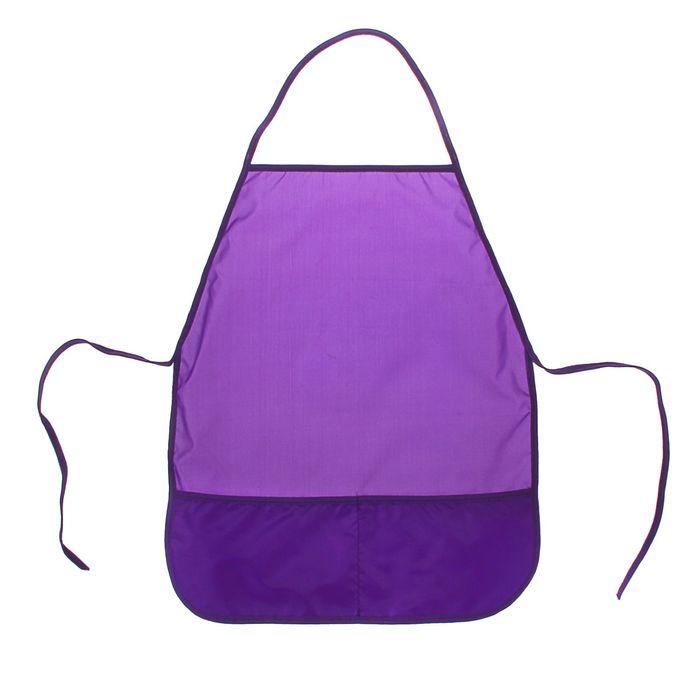 Фартук для труда, Стандарт 485 х 395 мм, Фиолетовый