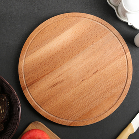 Cutting Board Round large