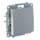 Выключатель ABB Cosmo, одноклавишный, алюминий, 619-011000-200