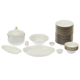 Сервиз столовый «Классик», 37 предметов, 2 вида тарелок