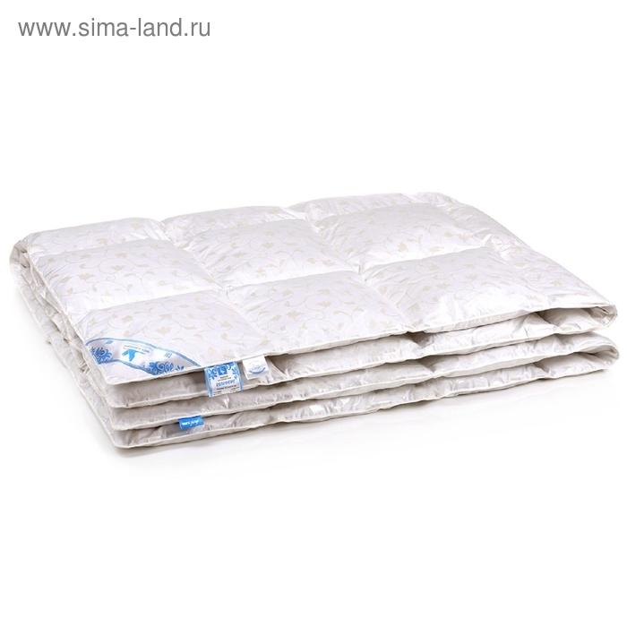 Одеяло кассетного типа Belashoff Комфорт, размер 140х205 см, пуховая смесь, тик